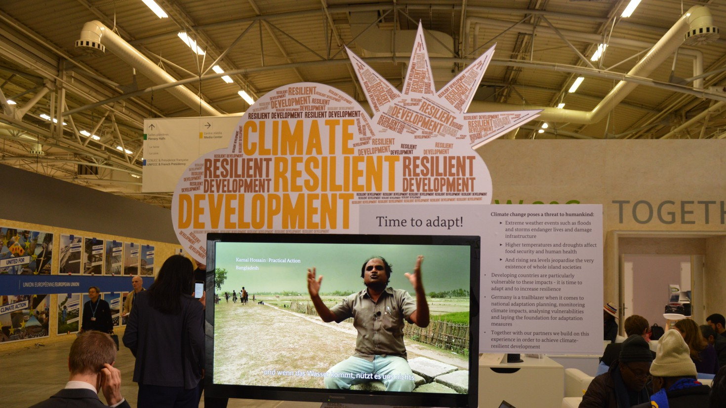 tired delegates during the climate talks in lima 2014